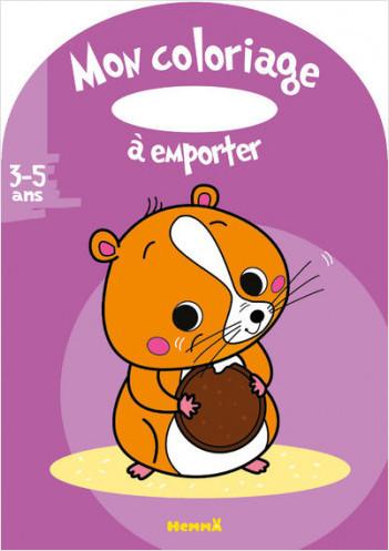 Mon coloriage à emporter (3-5 ans) (Hamster)