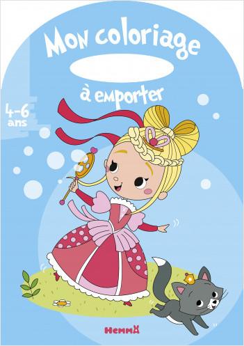 Mon coloriage à emporter (4-6 ans) (Princesse)