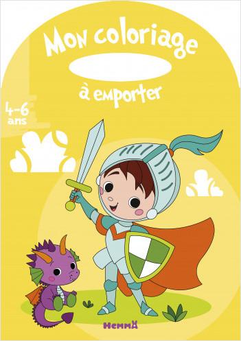 Mon coloriage à emporter (4-6 ans) (Chevalier)