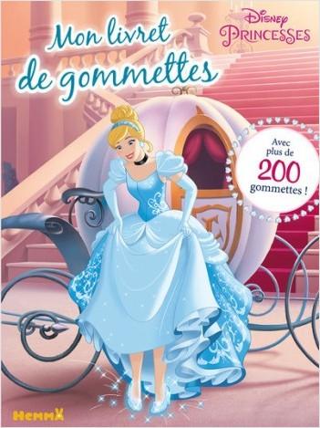 Disney Princesses - Mon livret de gommettes (Cendrillon)