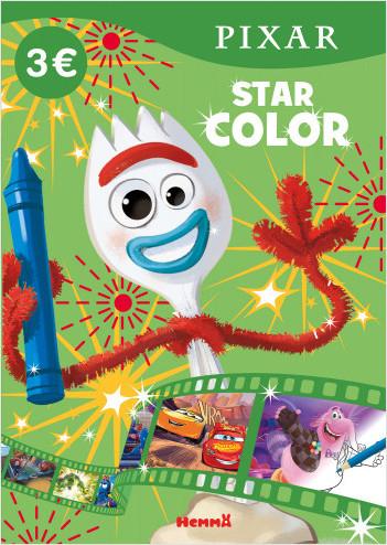 Disney Pixar – Star Color – Livre de coloriage – Dès 4 ans