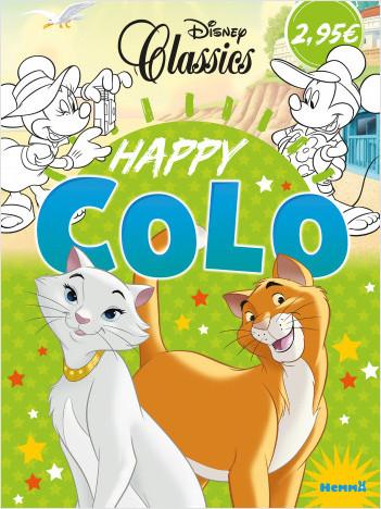 Disney Classics – Happy Colo – Livre de coloriage – Dès 5 ans