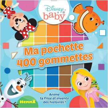 Disney Baby – Ma pochette de gommettes – Pochette de gommettes – Dès 4 ans
