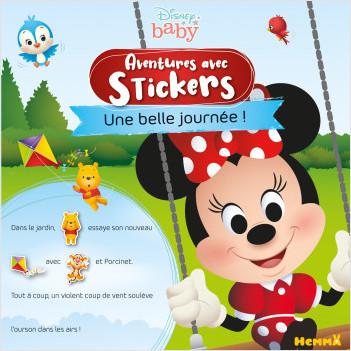 Disney Baby – Aventures avec stickers – Une belle journée ! – Livre d'histoires avec stickers  – Dès 3 ans