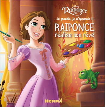 Disney Raiponce – Je grandis, je m'épanouis – Raiponce réalise son rêve – Lecture album enfant – Dès 4 ans