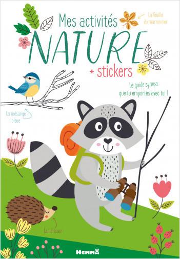 Mes activités nature – Carnet d'activités découverte - dès 5 ans