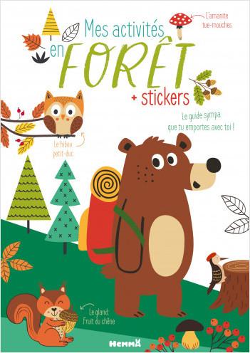 Mes activités nature - Mes activités en forêt – Carnet d'activités découverte – dès 5 ans