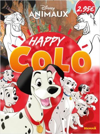 Disney Animaux – Happy Colo – Livre de coloriage – Dès 5 ans