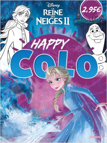 Disney La Reine des Neiges 2 – Happy colo – Livre de coloriage – Dès 5 ans