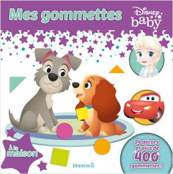 Disney Baby - Mes gommettes - Livre de gommettes - À la Maison - Dès 3 ans