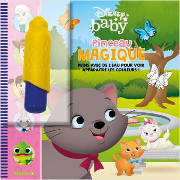 Disney Baby – Pinceau magique – Livre avec pinceau magique – Peinture propre - dès 3 ans