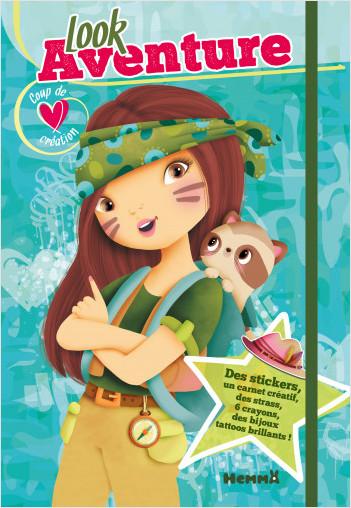 Coup de cœur créations - Look aventure - Kit avec stickers et crayons pour habiller les modèles - Dès 5 ans