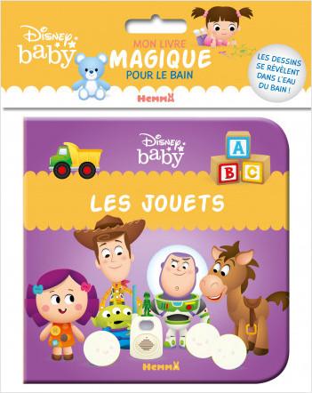 Disney Baby – Mon livre magique pour le bain – Les jouets – Livre de bain – Bébés à partir de 9 mois