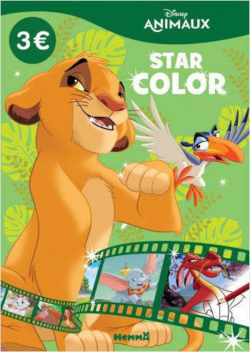 Disney Animaux – Star Color – Livre de coloriage – Dès 4 ans