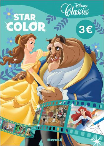 Disney Classics – Star Color – Livre de coloriage – Dès 4 ans