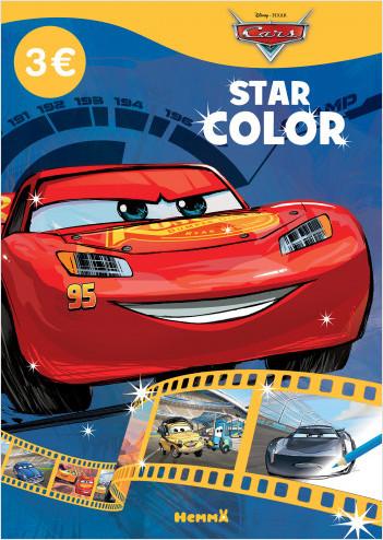 Disney Pixar Cars – Star Color – Livre de coloriage – Dès 4 ans