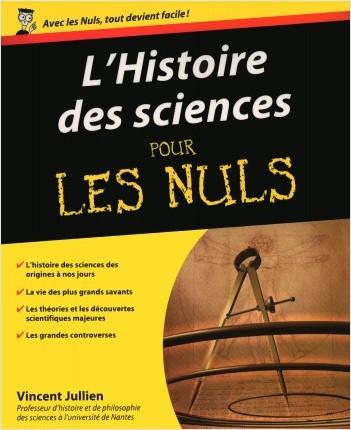 L'Histoire des sciences pour les Nuls