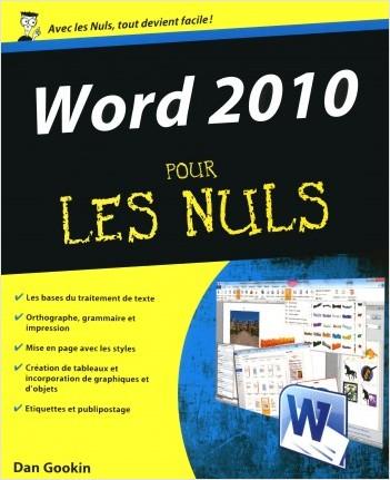Word 2010 pour les Nuls