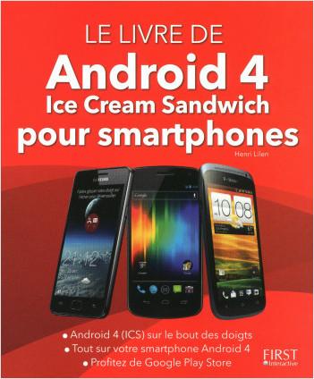 Le livre de Android 4 pour smartphones