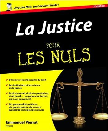 Justice pour les Nuls, 2e (La)