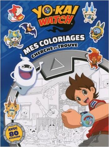 Yo-kai Watch - Mes coloriages cherche et trouve