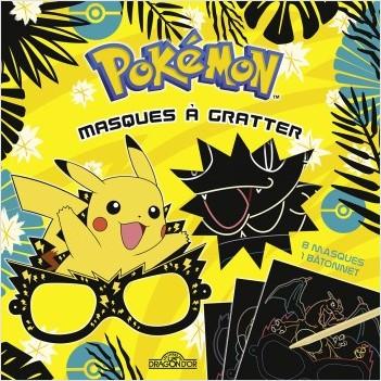 Pokémon - Mes masques à gratter