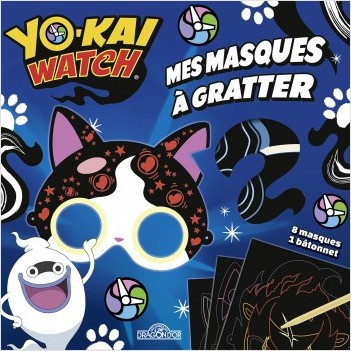 Yo-kai Watch - Mes masques à gratter
