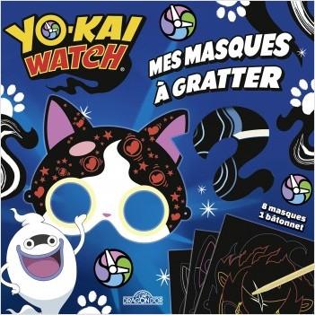 Yo-kai Watch - Mes masques à gratter