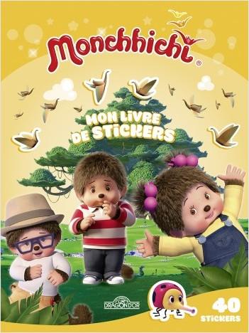 Monchhichi - Mon livre de stickers