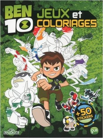 Ben 10 - Jeux et coloriages