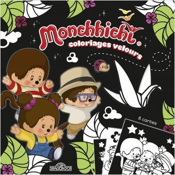 Monchhichi - Coloriages velours