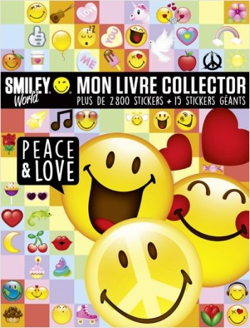 Smiley - Mon livre collector Peace & Love