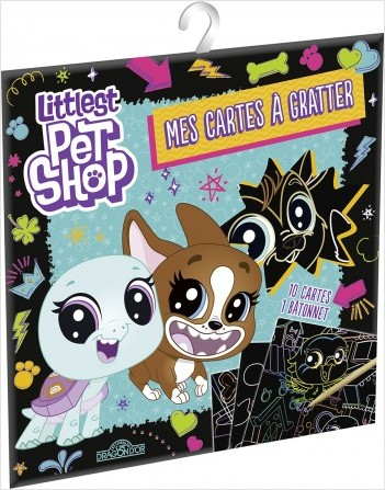 Littlest Pet Shop - Mes cartes à gratter