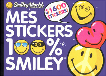 Mes stickers 100 % Smiley